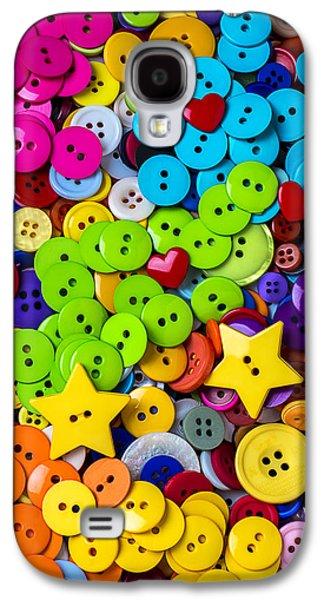 Lovely Buttons Galaxy S4 Case