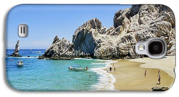Lovers Beach Galaxy S4 Case