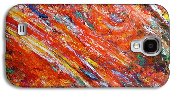 Loves Fire Galaxy S4 Case by Michael Durst
