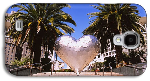 Low Angle View Of A Heart Shape Galaxy S4 Case by Panoramic Images