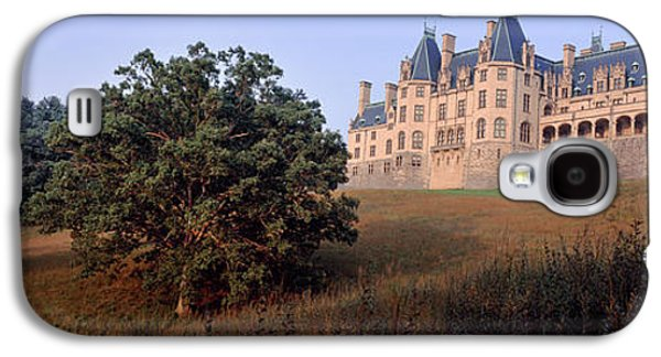 Low Angle View Of A Mansion, Biltmore Galaxy S4 Case