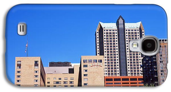 Low Angle View Of Buildings, Hyatt Galaxy S4 Case by Panoramic Images