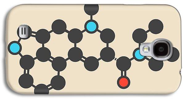 Lsd Lysergic Acid Diethylamide Molecule Galaxy S4 Case by Molekuul