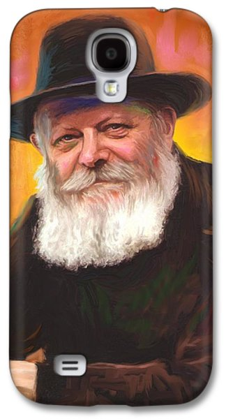 Lubavitcher Rebbe Galaxy S4 Case by Sam Shacked