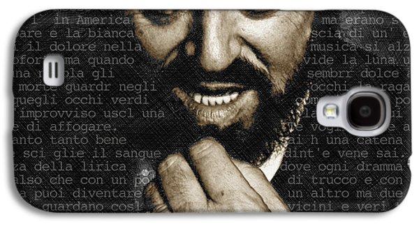 Luciano Pavarotti Galaxy S4 Case