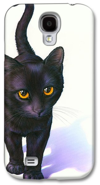 Lucky Cat Galaxy S4 Case by Andrew Farley