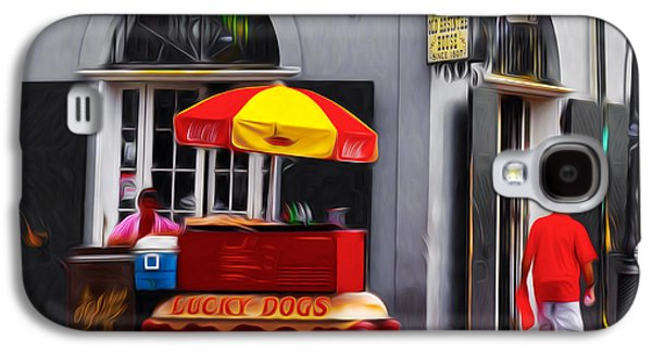 Lucky Dogs - New Orleans Galaxy S4 Case by Bill Cannon