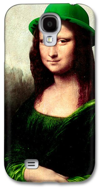 Lucky Mona Lisa Galaxy S4 Case by Gravityx9  Designs