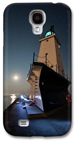 Ludington North Breakwater Lighthouse Galaxy S4 Case by Adam Romanowicz