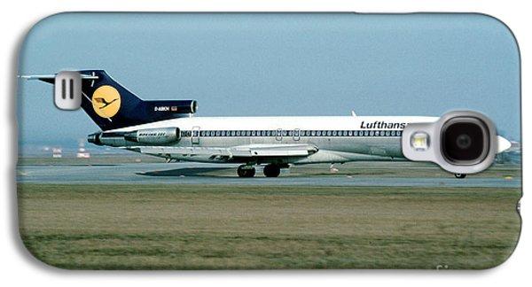 Lufthansa Boeing 727 Galaxy S4 Case