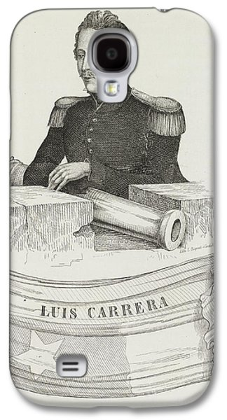 Luis Carrera Galaxy S4 Case by British Library