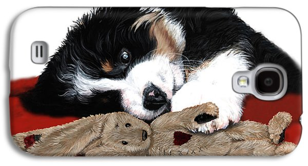 Lullaby Berner And Bunny Galaxy S4 Case by Liane Weyers