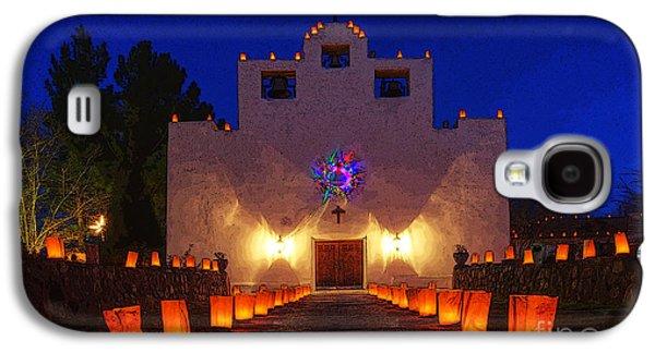 Luminaria Saint Francis De Paula Mission Galaxy S4 Case by Bob Christopher