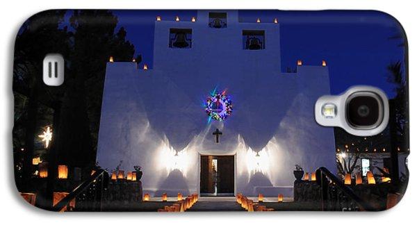 Luminarias At St Francis De Paula Galaxy S4 Case by Vivian Christopher