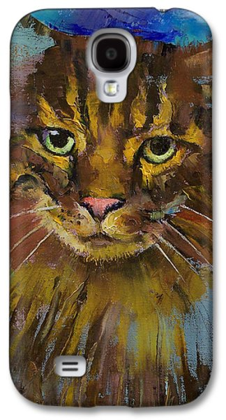 Luna Galaxy S4 Case by Michael Creese