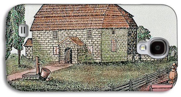 Lutheran Church Built In 1743 Trappe Galaxy S4 Case by Prisma Archivo