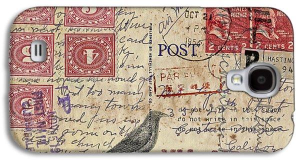 Lyda Compton Postcard Galaxy S4 Case