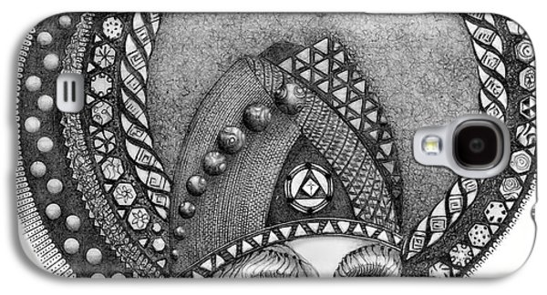 Galaxy S4 Case featuring the drawing . by James Lanigan Thompson MFA