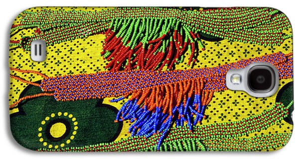 Maasai Beadwork Galaxy S4 Case by Michele Burgess