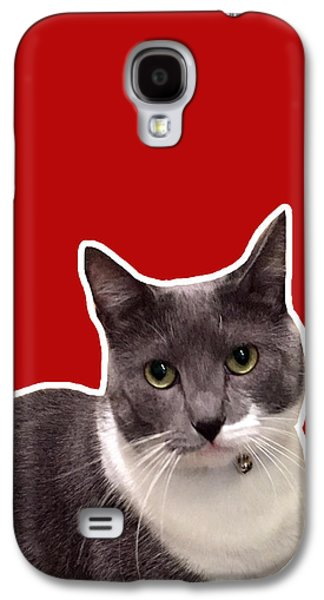Cat Galaxy S4 Case - Mac Attack-custom Order by Linda Woods