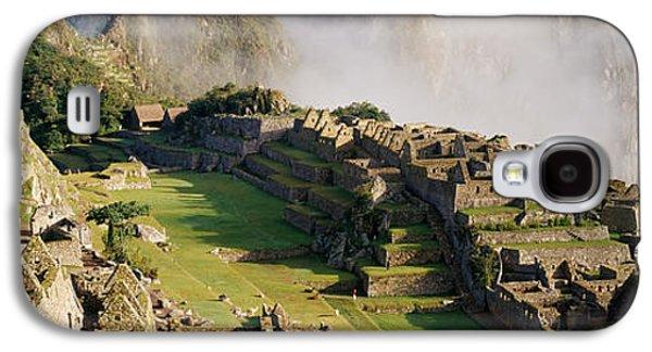 Machu Picchu, Peru Galaxy S4 Case by Panoramic Images