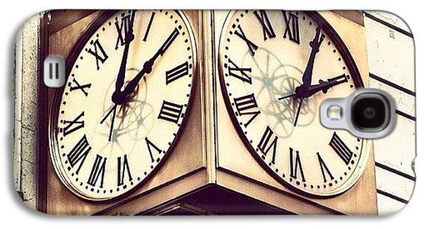 Design Galaxy S4 Case - Macy's Clock by Boris Mordukhayev