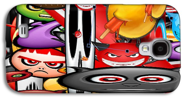 Mad Faces Galaxy S4 Case