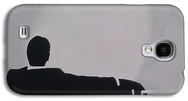 Mad Men In Silhouette Galaxy S4 Case