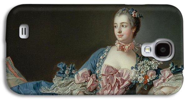 Madame De Pompadour Galaxy S4 Case by Francois Boucher