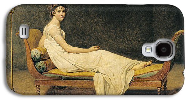 Madame Recamier Galaxy S4 Case by Jacques Louis David