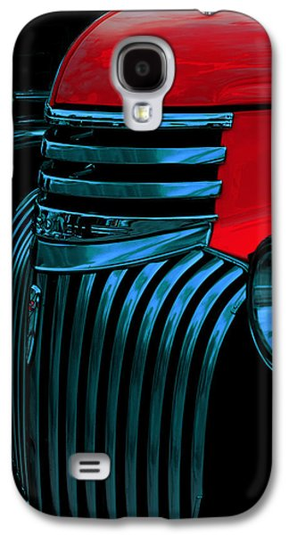 Made Of Steel Galaxy S4 Case by Jack Zulli