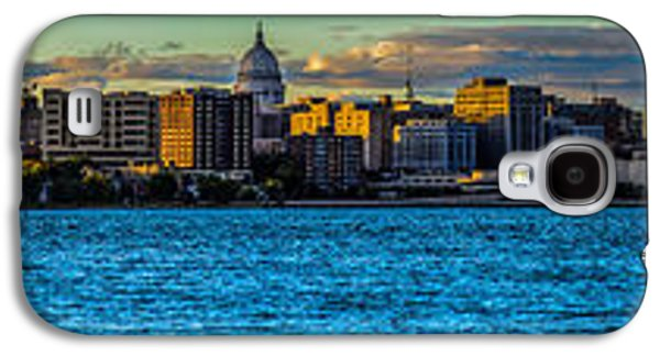 Madison Twilight Panorama Galaxy S4 Case by Randy Scherkenbach