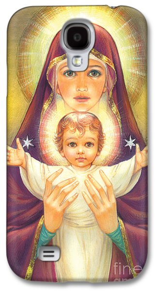 Madonna And Baby Jesus Galaxy S4 Case