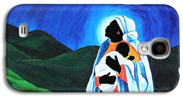 Madonna And Child  Hope For The World Galaxy S4 Case by Patricia Brintle