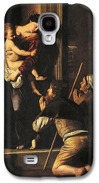 Madonna Dei Pellegrini Or Madonna Of Loreto Galaxy S4 Case by Michelangelo Merisi da Caravaggio