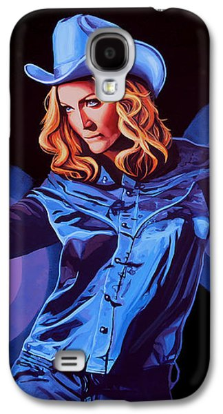 Madonna Painting Galaxy S4 Case