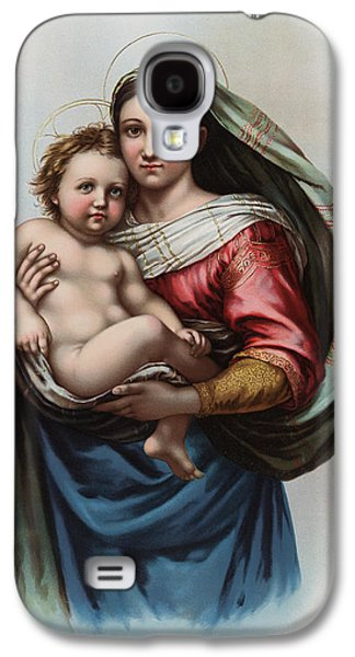 Madonna Galaxy S4 Case by Raphael
