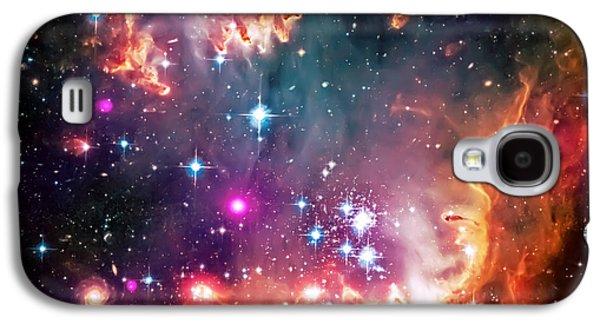 Magellanic Cloud 2 Galaxy S4 Case by Jennifer Rondinelli Reilly - Fine Art Photography