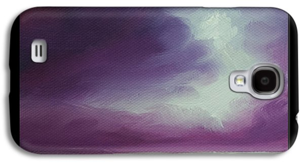 Magenta Moon Iv Galaxy S4 Case