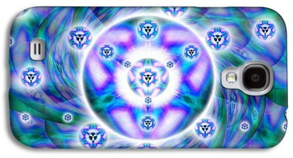 Magnetic Fluid Harmony Galaxy S4 Case by Derek Gedney