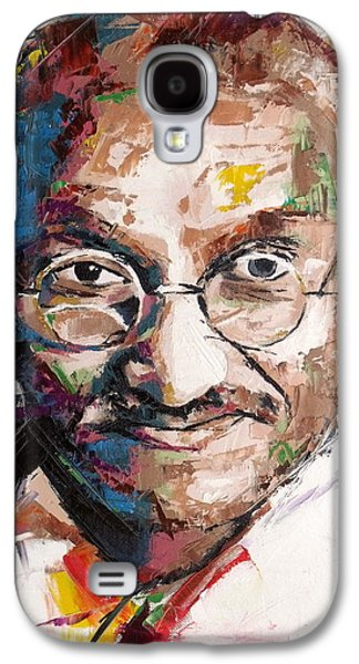 Mahatma Gandhi Galaxy S4 Case by Richard Day