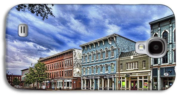 Main Street Usa Galaxy S4 Case by Tom Mc Nemar