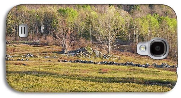 Maine Blueberry Field In Spring Galaxy S4 Case by Keith Webber Jr