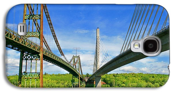 Maine Bridges Galaxy S4 Case