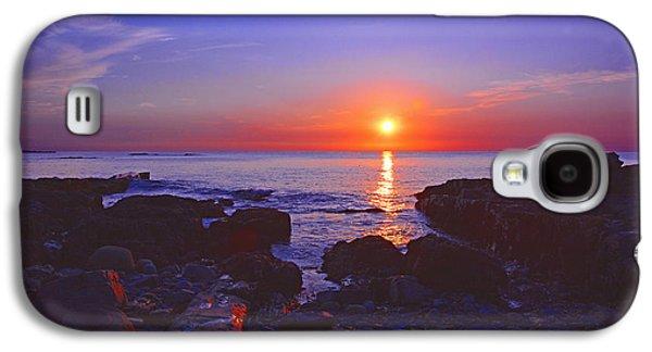 Maine Coast Sunrise Galaxy S4 Case