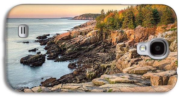 Maine Coastal Photograph - Acadia National Park Galaxy S4 Case