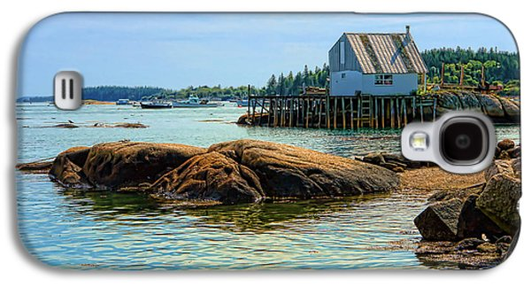 Maine Fishing Port Galaxy S4 Case by Olivier Le Queinec