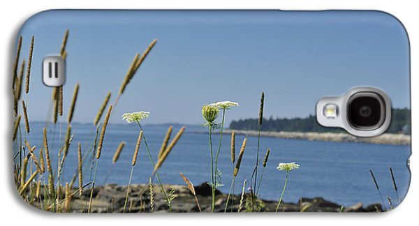 Maine Seascape Penobscot Bay Galaxy S4 Case