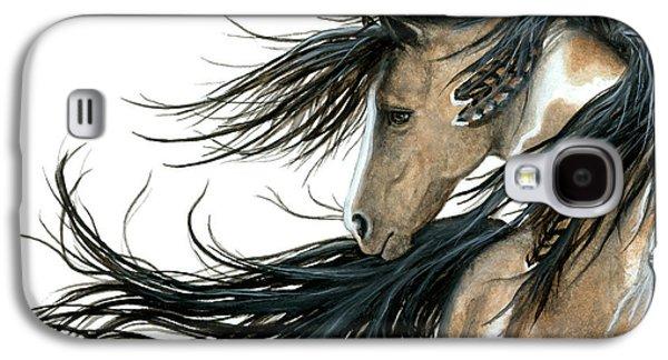 Majestic Horse 89 Galaxy S4 Case by AmyLyn Bihrle