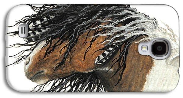 Majestic Curly Horse Galaxy S4 Case by AmyLyn Bihrle